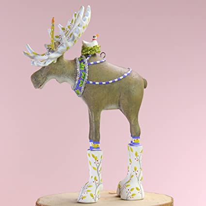 Image Unavailable. Image not available for. Color: Patience Brewster  Christmas Home Decor ... - Amazon.com: Patience Brewster Christmas Home Decor Mini Milton Moose