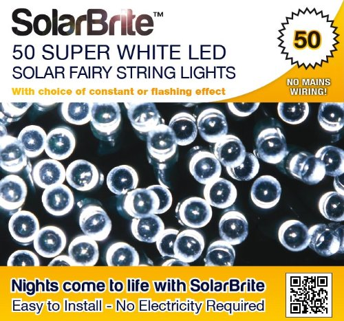 Solar 100 Super Bright Blue Led Lights - 9