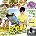 Kids Science Set - Over 60 Experiments Kit, How-to DVD and Instruction Manual. 55 Pieces, Year-Round Fun Educational Science Activities by Learn & Climb