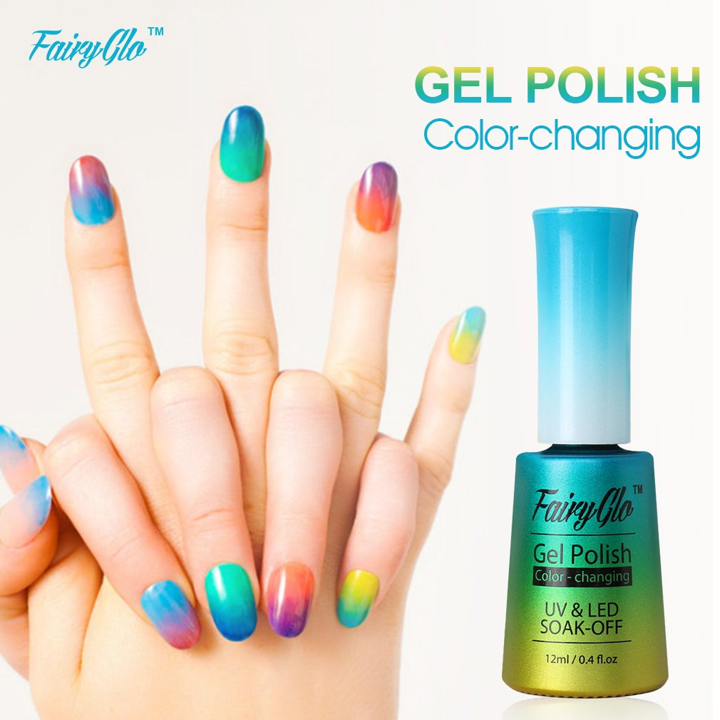 Amazon.com : Fairy Glo (Pick Any 3 Colors) Gel Nail Polish UV LED ...