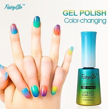 Amazon.com : Fairy Glo (Pick Any 3 Colors) Gel Nail Polish UV LED ...