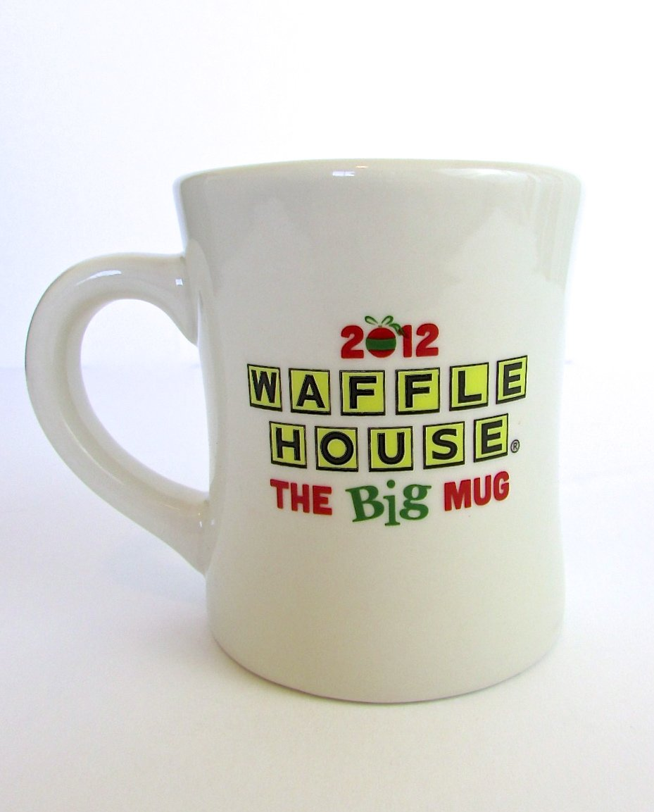 Amazon.com: Waffle House 2012 Big Mug Christmas Coffee Tea Mug Cup ...