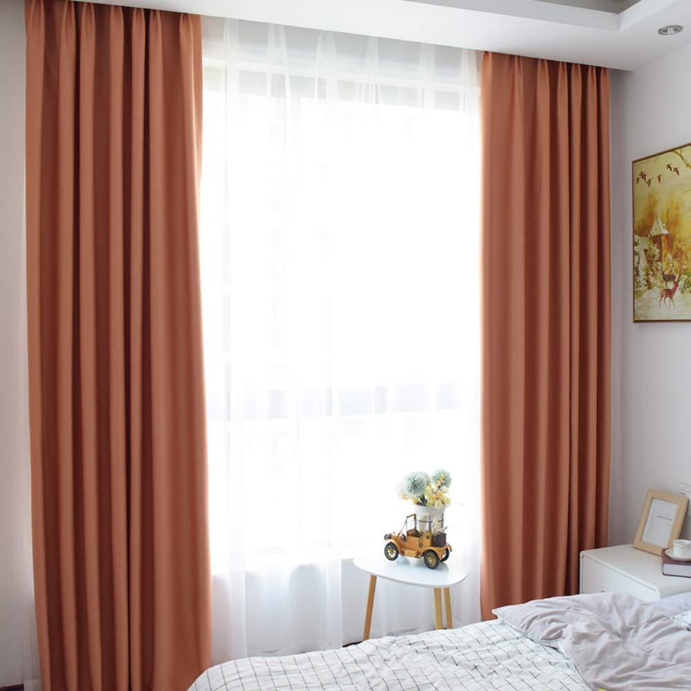 遮光カーテン,ドレープ 断熱 外付け カーテン,の ベッド リビング ルーム シンプル モダンな 1 つのスライス-C 300*270cm 300*270cm C B07QN91845