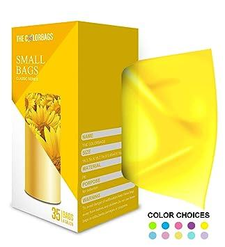 Amazon.com: Bolsas pequeñas de basura de FORID – 35 ct, 4 ...