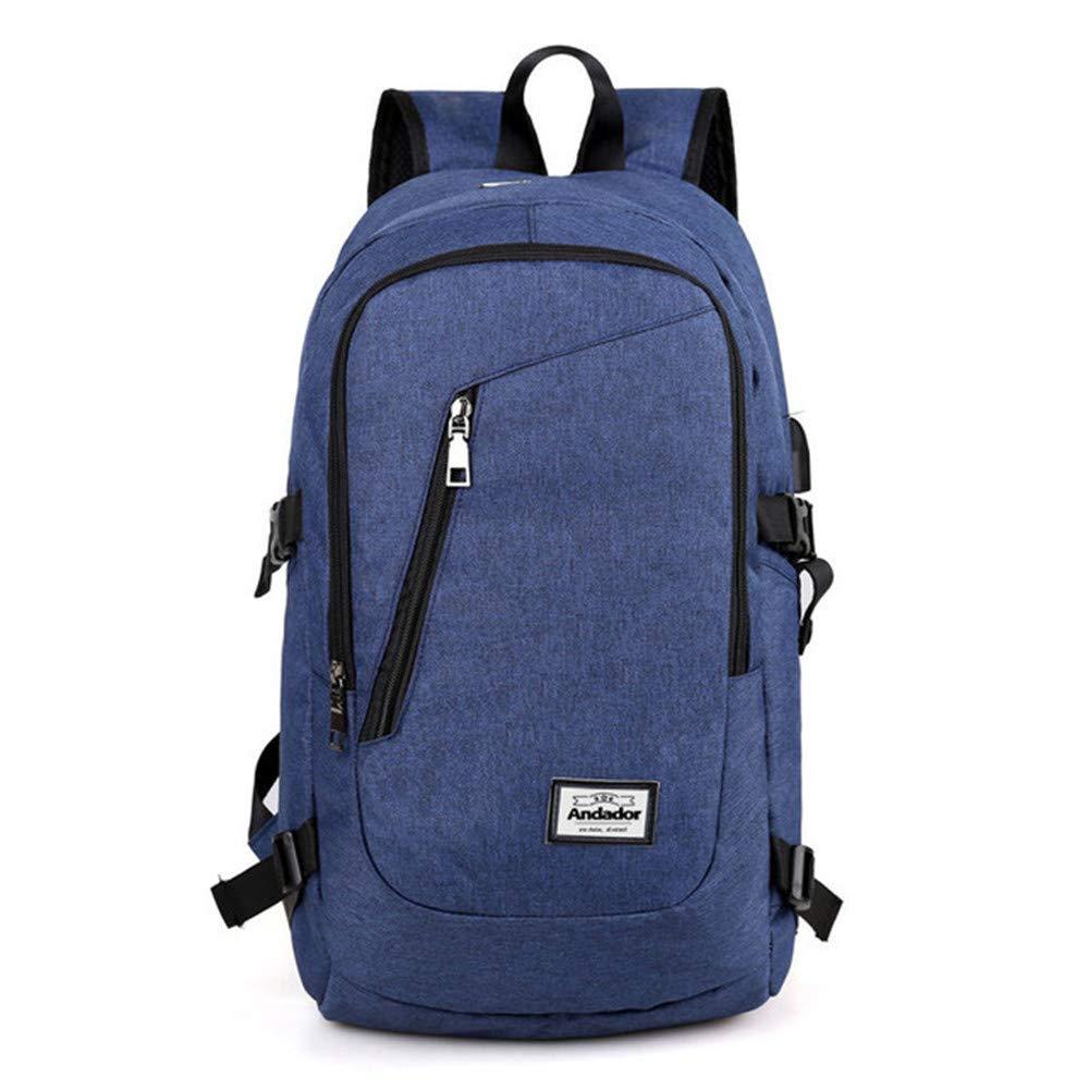 Amazon.com: RCTO Fashion man laptop backpack usb charging ...