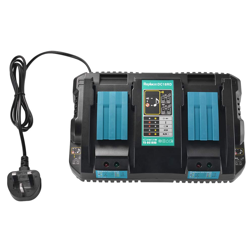 Tutmonda Cargador de Puerto Doble Compatible con baterías ...