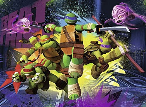 Tortugas Ninja - Puzzle, 150 piezas (Ravensburger 10006 4)