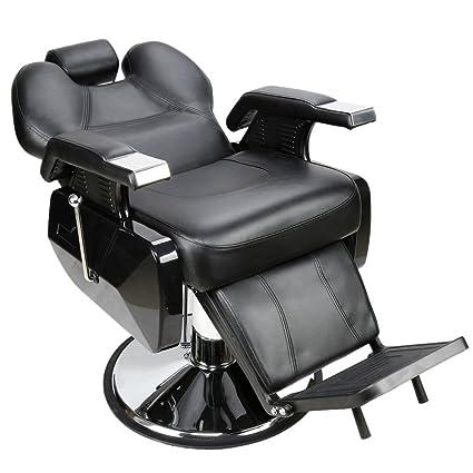 Merveilleux Best Salon Hydraulic Barber Chair Styling Salon Beauty Equipment Spa  Shampoo Styling (Black)