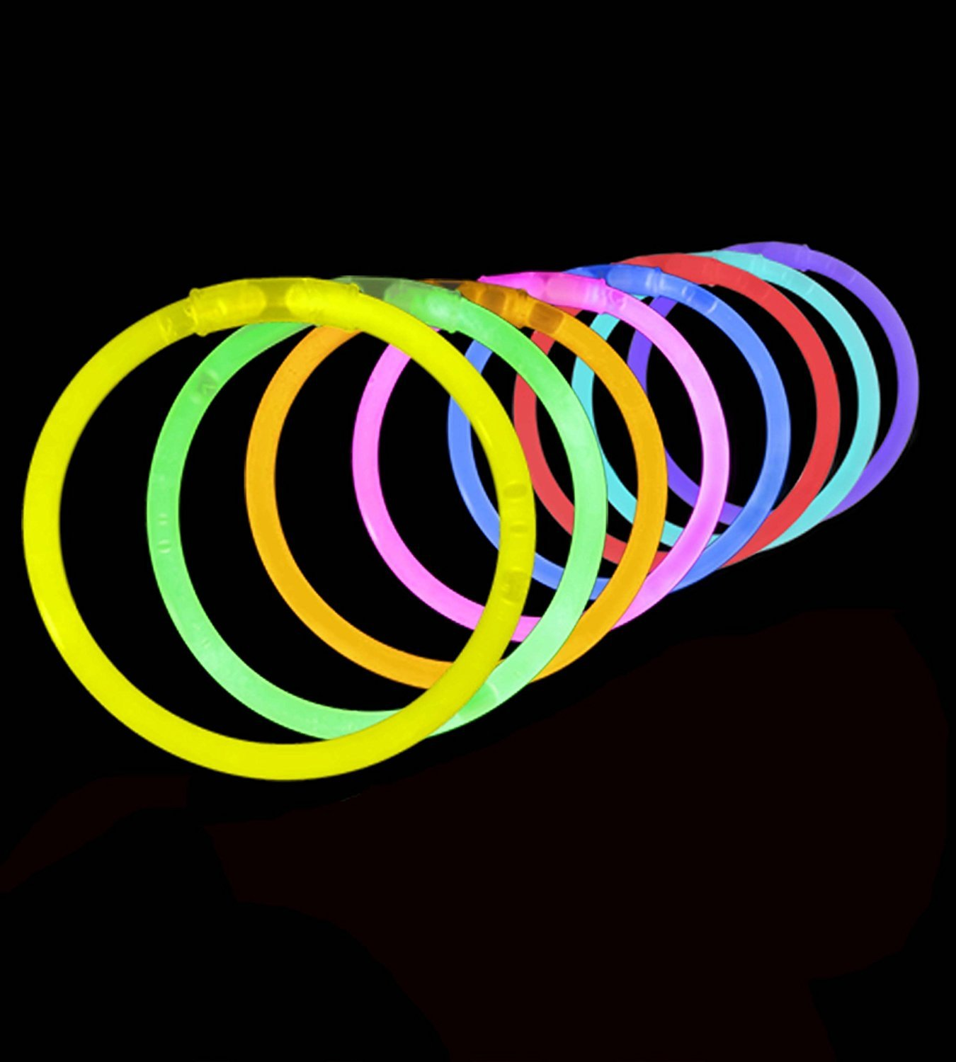 Lumistick Glow Sticks Variety Pack of Glowing Party Favors Includes Necklaces, Bracelets and Glasses (Assorted, 200 Packs) by Lumistick (Image #5)