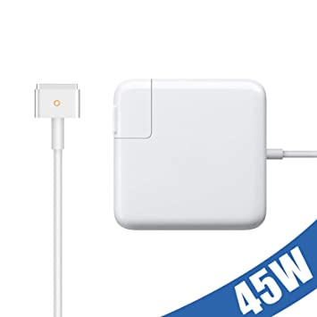 Amazon.com: MacBook Air Charger, AC 45w T-Type Magsafe2 ...