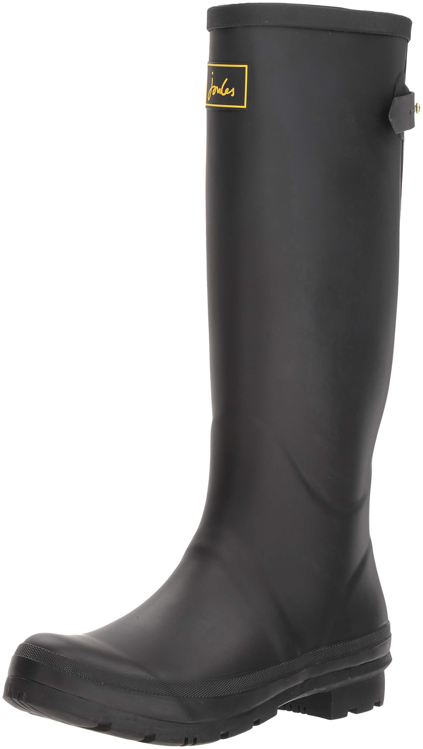 Joules Women's Field Welly Rain Boot, Black, 5 Medium UK (7 US) by Joules