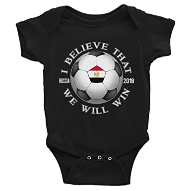 08a0dc6ded0 Amazon.com: Small Town Merch Egypt National Football Team - We Will ...