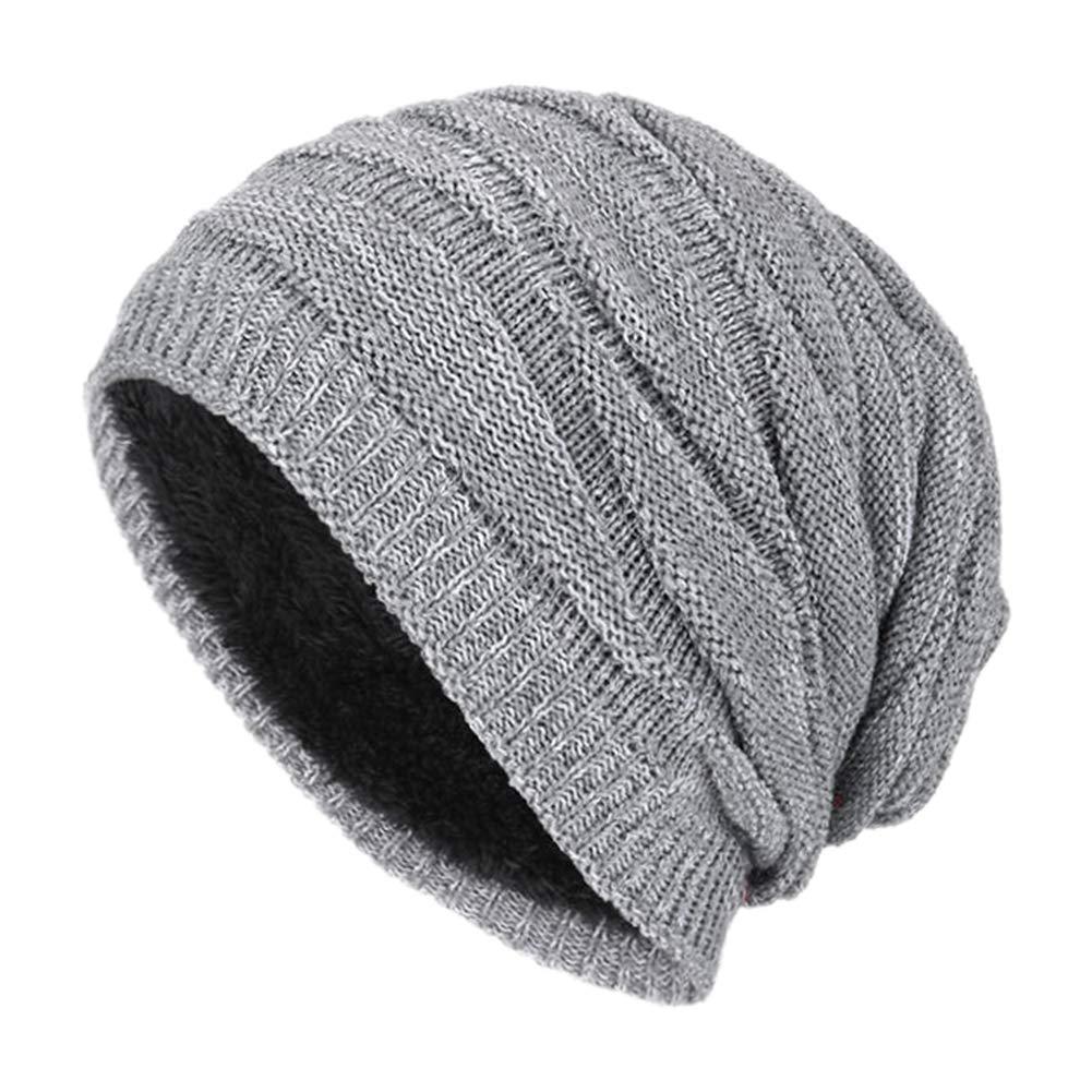932786bf62dc6 Leisial™ Unisexo-Adult Sombrero de Invierno Gorro de Punto Caliente Sombrero  al Aire Libre