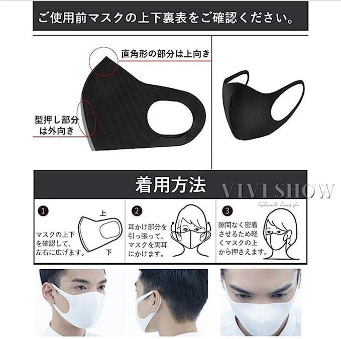 向き マスク の