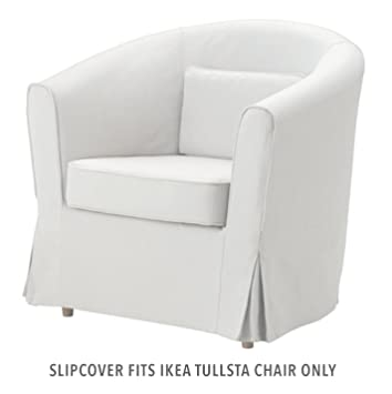 Ikea EKTORP TULLSTA - Cubierta Sillón, Blanco Blekinge ...