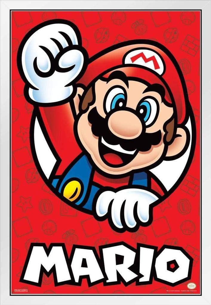 Amazon Com Pyramid America Super Mario Bros Mario Nintendo Cool Wall Decor Art Print Poster 12x18 Posters Prints