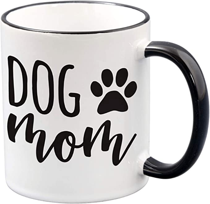 Perfect Borthday Gift or Spouse Friend Mugs For Women 13OZ Glass Coffee Mug Fur Mama Cute Cat and Dog Mom Mug- Funny Pet Coffee Mug Boss Employee By AW Fashions