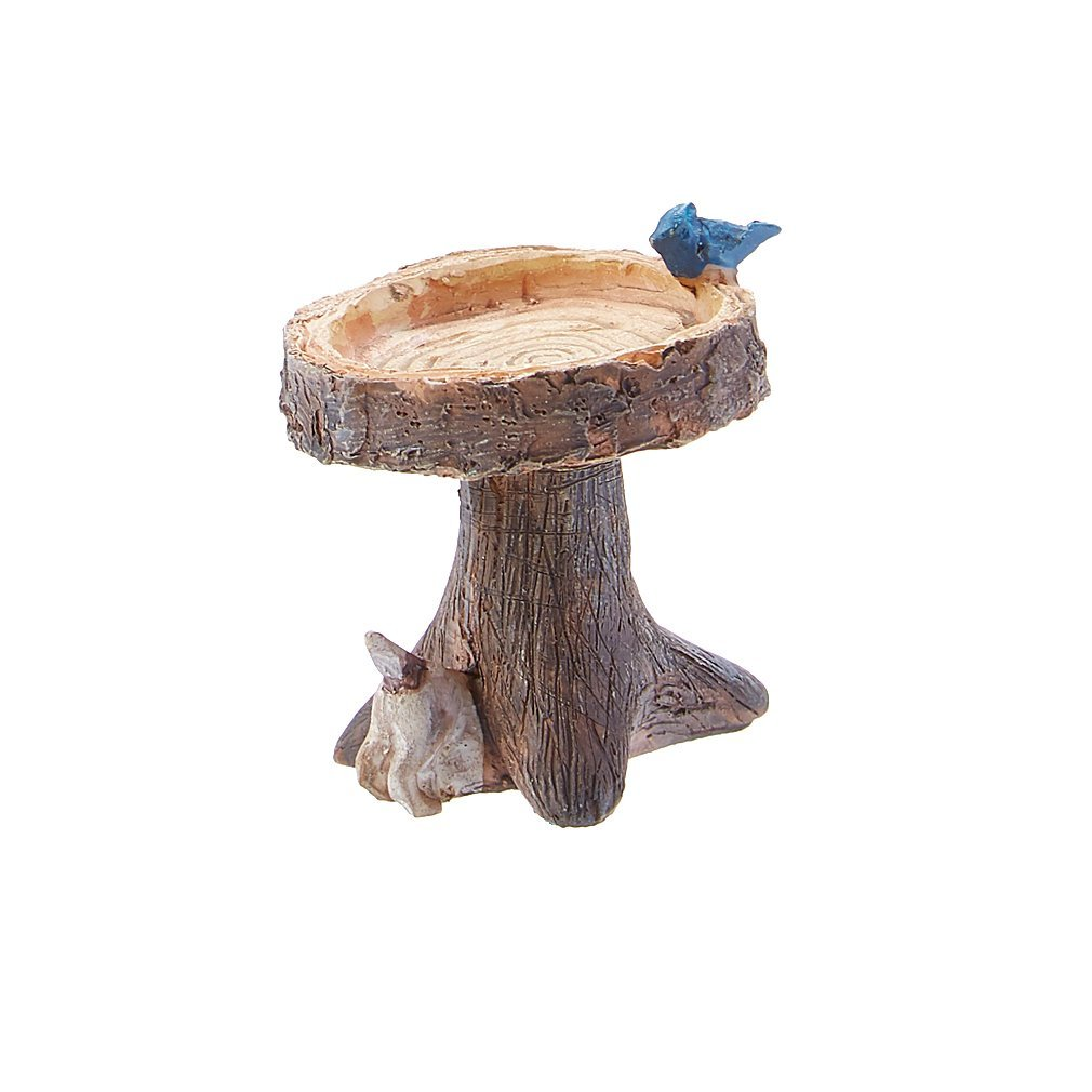 Wholesale Fairy Gardens Digging Dog Birdbath #DDBB95