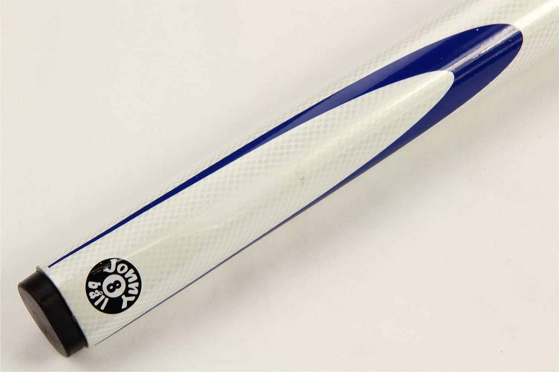 /9/mm Spitze Jonny 8/Ball Inferno Billardqueue 144,8/cm wei/ß 2-teilig graphit f/ür Poolbillard//Snooker Queue/