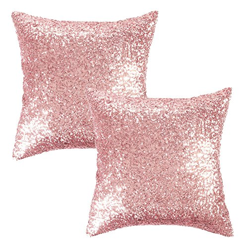 Kevin Textile Squins Decorative Cushion Cover Glitzy Sequin &