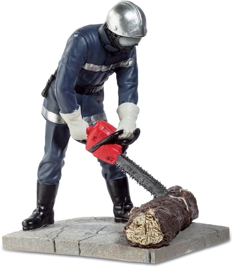 Katerina Prestige Figurine –  Fireman with chainsaw, pom124