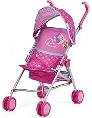 Hauck Toys - Silla de Paseo para muñecas Drive Sun - con Capota, cesto para