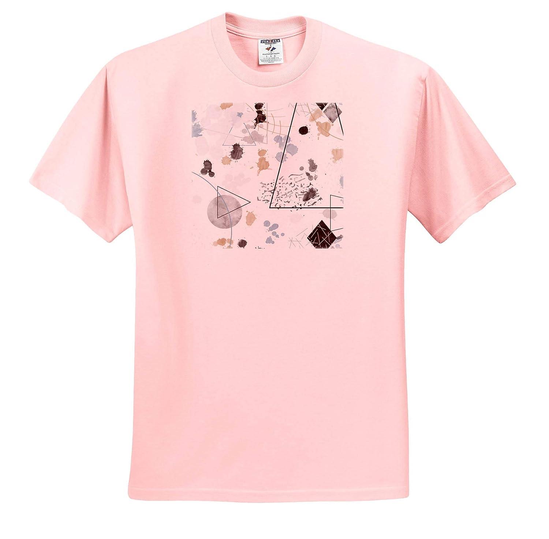 Abstract Minimalist Splatter Design ts/_319866 Adult T-Shirt XL 3dRose Janna Salak Designs Humor