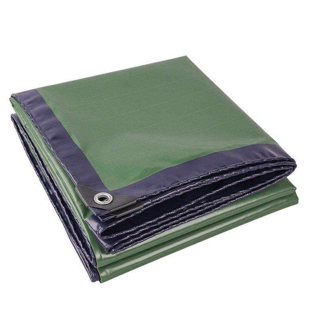 LIANGJUN オーニング テント キャンバス 樹脂 コーティング 耐摩耗性 防水性のある タープ 日焼け止め レインカバー トラック アウトドア、 460g/m² (色 : 緑, サイズ さいず : 2X3m) B07D25YDCG 12076 2X3m|緑 緑 2X3m