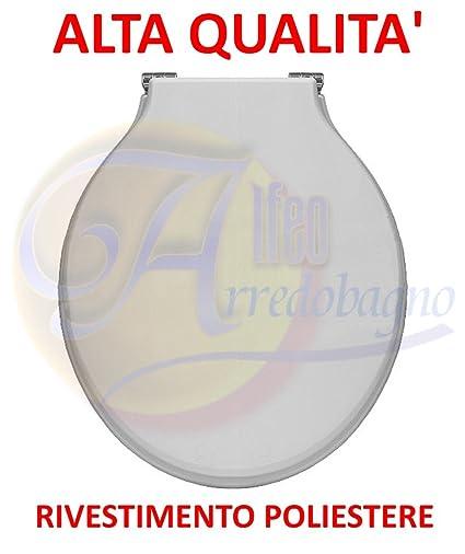Pozzi Ginori Sedile Wc.Copriwater Sedile Wc Pozzi Ginori Montebianco Monte Bianco Coprivaso Poliestere Alta Qualita