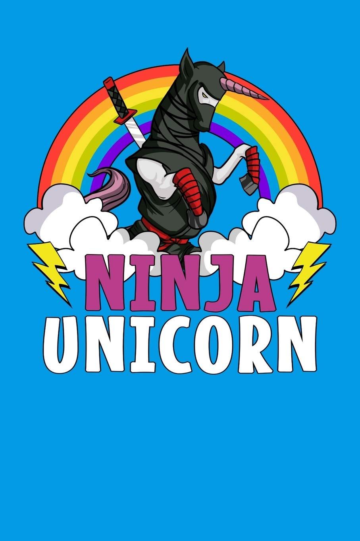 Ninja Unicorn: Unicorn Samurai Notebook: Cloud Tower ...