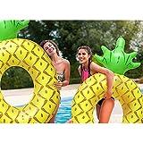 Divine Shield Schwimring Ananas Aufblasbare Riesen Pool Matratze Schwimmen Kreis Erwachsene Strand Sommer Wasserspielzeug 2018