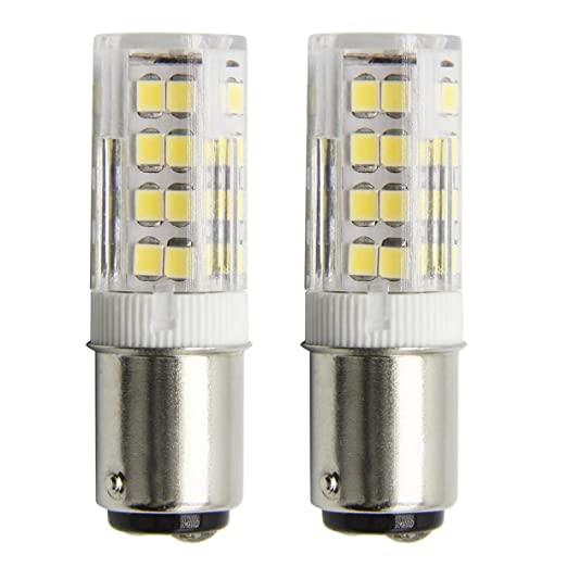 1819 BA15D Bombillas LED de Intensidad No Regulable 4W Equivalente ...