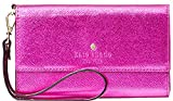 Kate Spade Metallic Leather Iphone Wristlet, Baja Rose