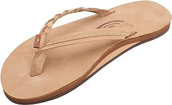 d7a19cccf1a7 Rainbow Sandals Women s Flirty Braidy Premier Leather w Single Braided Strap