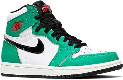 Amazon.com | Jordan Women's Shoes Nike Air 1 Lucky Green DB4612 ...