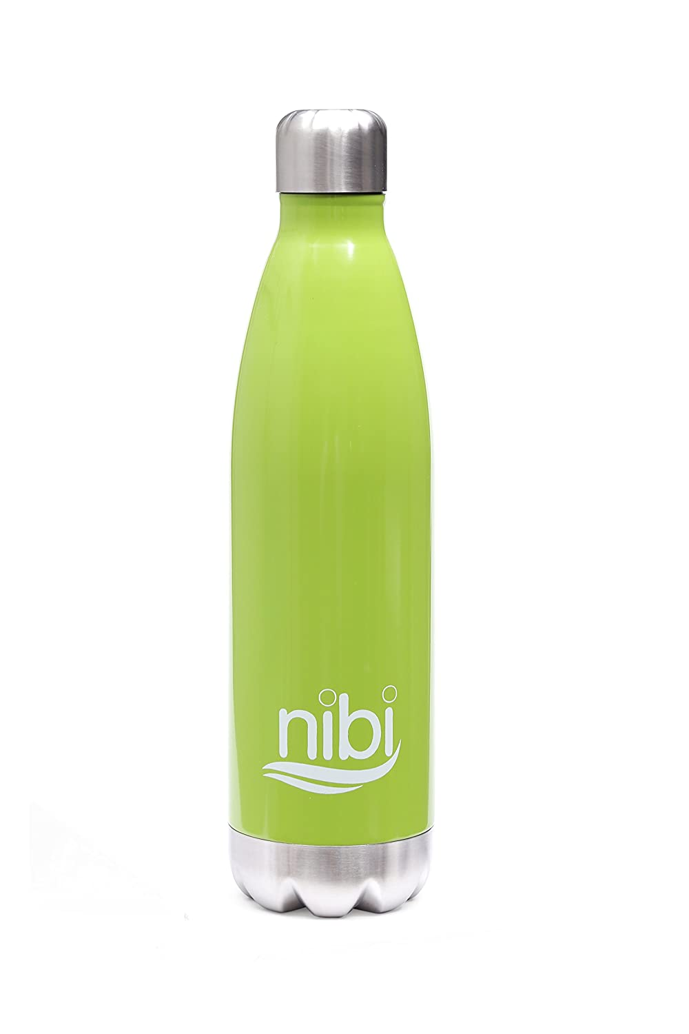 at School 25 Ounces BPA Free Nibi Stainless Steel Water Bottle 25 oz Six From Two Double Walled Vacuum Insulated Water Bottle- Condensation Free at Work /& at Play Keep Your Drink Cold//Hot in Sports