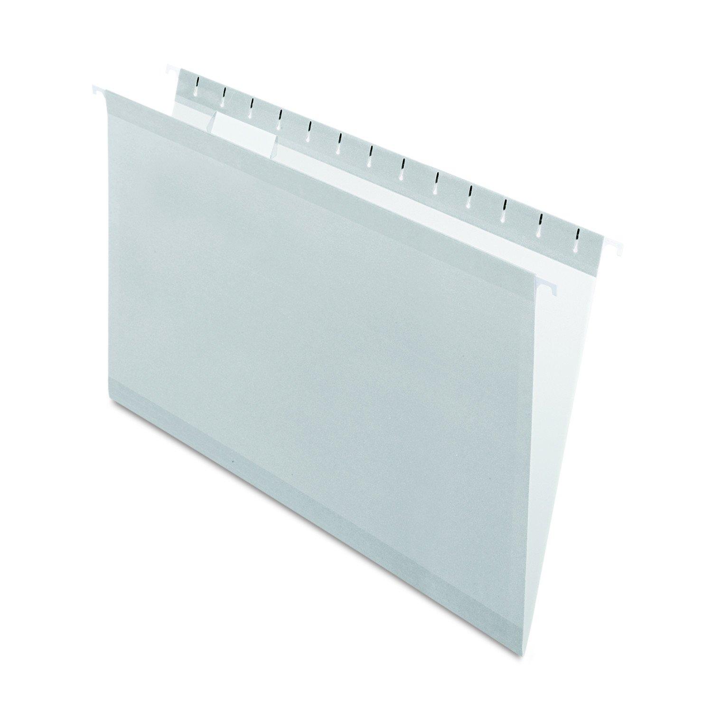 Pendaflex 415315BLU Hanging Folder, Reinforced, Blue, 1/5 Tab, Legal, 25 Per Box PFX415315BLU