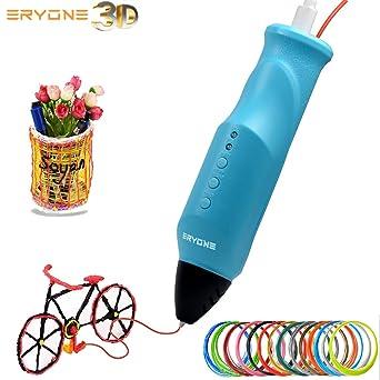 Amazon.com: Bolígrafo 3D, Impresora 3D, Eryone 3D Impresora ...