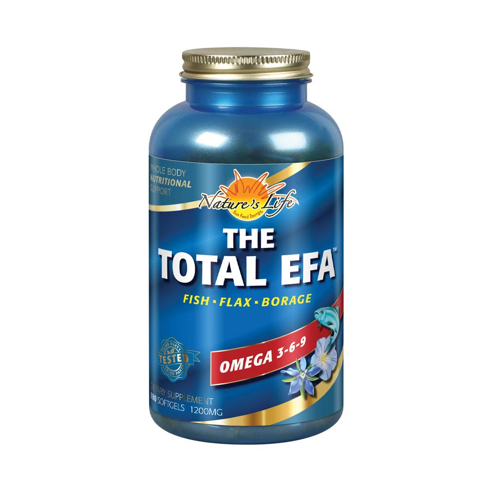 Health From The Sun, The Total EFA Maximum Omega 3-6-9, 180-Count by Health From The Sun