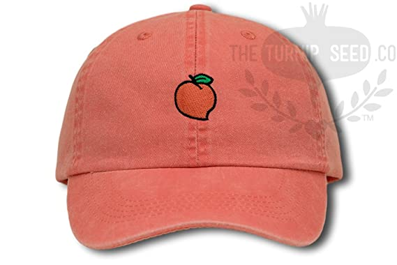 peach design baseball cap applique designs crossword hat software
