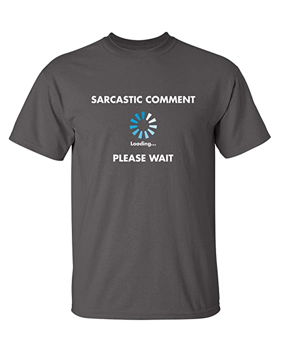 Review Sarcastic Comment Loading Novelty