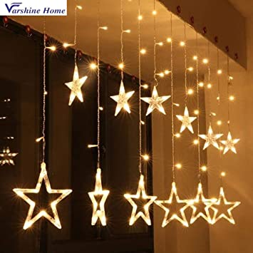 Varshine Home Star Light Curtain Decoration Diwali Gift