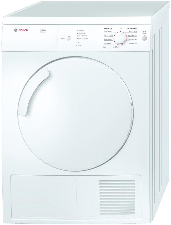 Bosch WTV74100 Independiente Carga frontal 7kg C Blanco - Secadora ...