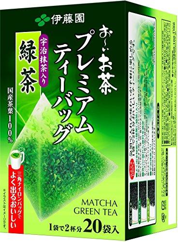 Ito En - Ryokucha Green tea Matcha Blend Premium bag Pack of 20