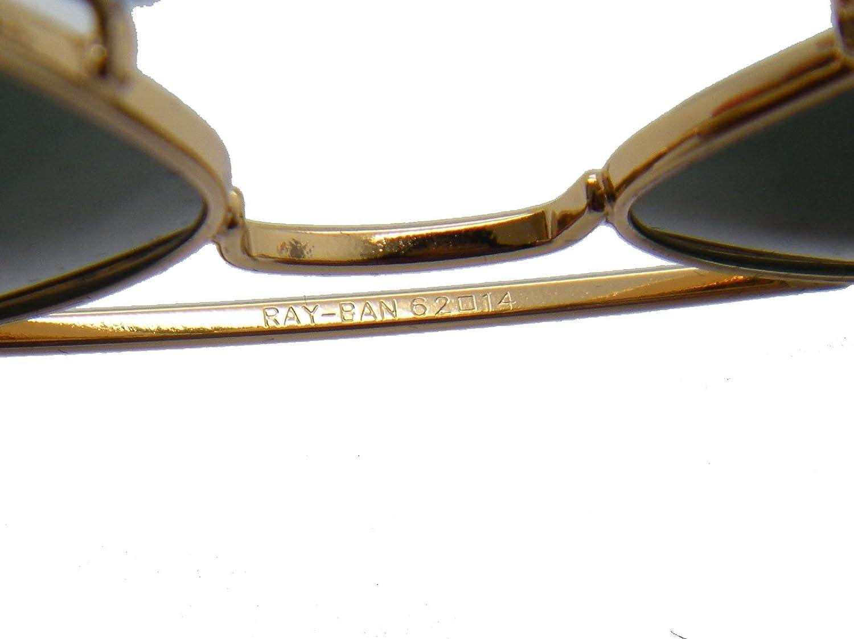 221db4187f Amazon.com  RAY BAN AVIATOR RB3026 Sunglasses - Gold L2846 Large (62mm)   Shoes