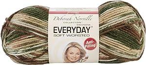 Premier Yarns Deborah Norville Collection Everyday Soft Worsted Prints Yarn: Oak Moss