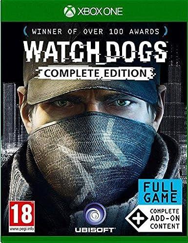 Ubisoft Watch_Dogs: Complete Edition, Xbox One Básico + complemento + DLC Xbox One vídeo - Juego (Xbox One, Xbox One, Acción / Aventura, Modo multijugador, M (Maduro)): Amazon.es: Videojuegos