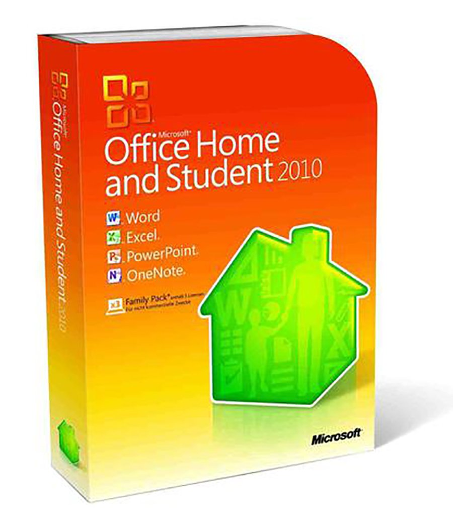 Microsoft Office Home and Student 2010 3-User by Microsoft