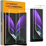 (2 Sets) Orzero 2 Pack Soft Front Screen Protector and 2 Pack Inside Screen Protector Compatible for Samsung Galaxy Z Fold2 5