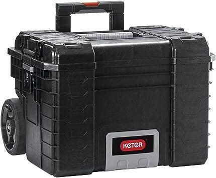 Keter 22 Gear Rigid Maleta Herramientas vacía Caja de herramientas caja de herramientas grande: Amazon.es: Bricolaje y herramientas